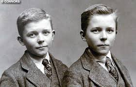 Twins, Fred (right) and John, 1920
