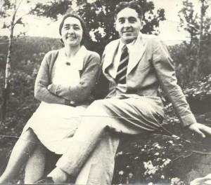 Joyce White and Raymond Golsworthy